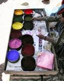 Polveri colorate Immagine Stock Libera da Diritti