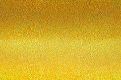 Polvilhe a poeira de ouro do brilho fotografia de stock royalty free