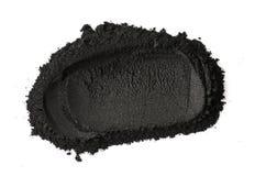 Polvo activado del carbón de leña Foto de archivo libre de regalías