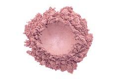 Polvo brillante del maquillaje Foto de archivo libre de regalías