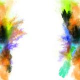 Polvo coloreado del polvo libre illustration