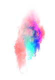 Polvo colorido lanzado Fotos de archivo