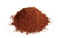 Polvo de cacao Imagen de archivo libre de regalías