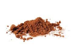 Polvo de cacao Imágenes de archivo libres de regalías
