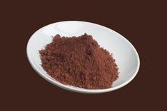 Polvo de cacao Foto de archivo libre de regalías