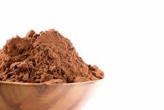 Polvo de cacao Fotos de archivo