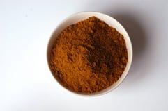 Polvo de curry Foto de archivo libre de regalías