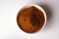 Polvo de curry Imágenes de archivo libres de regalías