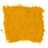 Polvo de curry fotos de archivo