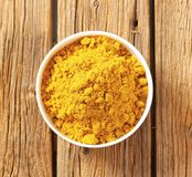 Polvo de curry Imagen de archivo libre de regalías