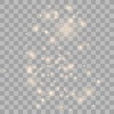 Polvo de estrella del oro que brilla imágenes de archivo libres de regalías