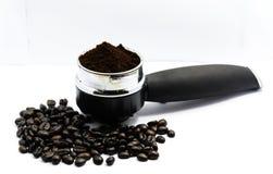 Polvo del café del Arabica Fotos de archivo libres de regalías