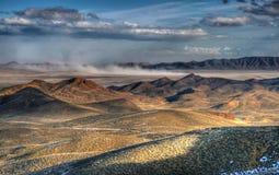 Polvo del lago seco Foto de archivo libre de regalías