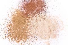 Polvo del maquillaje Fotos de archivo