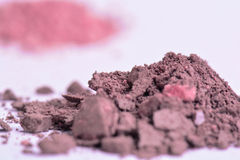 Polvo del maquillaje Foto de archivo libre de regalías