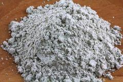 Polvo francés verde de la arcilla Fotografía de archivo
