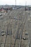 Polvo Railway Fotografia de Stock