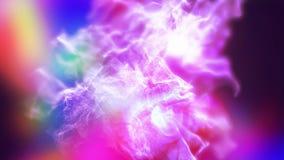 Polvo varicolored abstracto, ejemplo 3d Foto de archivo