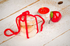 Polvorones dessert Royalty Free Stock Image