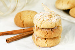 Polvorones, spanish shortbread Royalty Free Stock Image