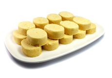 Polvorons dulce moldeado Fotografía de archivo libre de regalías
