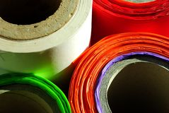 Polyéthylène Photo stock