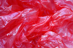Polyéthylène chiffonné Image stock