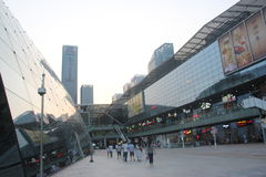 The Poly plaza commercial center in shenzhen CHINA ASIA Royalty Free Stock Photography
