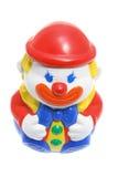 poly roly toy för clown royaltyfri foto