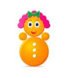 poly roly toy för flicka Royaltyfri Foto