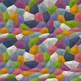 Poly triangulated background. Abstract poly triangulated background in different colors Stock Photos