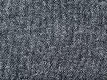Polyacryl tricottato grigio della poliammide di Heather e tessuto misto della lana immagini stock libere da diritti