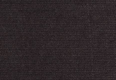 Polyamide fabric background, texture. Brilliant black color, hig Stock Photo