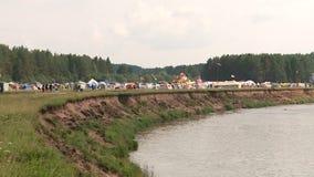Polyanareis in Bocharovo stock videobeelden