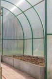 Polycarbonate greenhouse Stock Photos