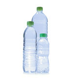 Polycarbonate plastic bottles of water Royalty Free Stock Photography