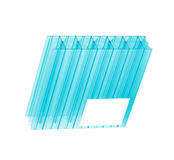 Polycarbonate sheet Stock Photography