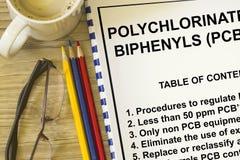 Polychlorinated biphenyls Stock Photo
