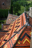 Polychromatic roofs Royalty Free Stock Photo