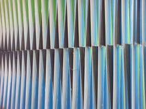 Polychrome искусство Карлосом Cruz Diez стоковые изображения rf
