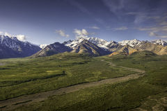 Polychrome Point, Denali Stock Photography