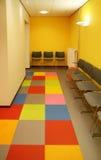 Polyclinic corridor Stock Photos