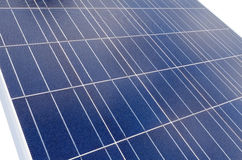 Polycrystalline solar cells Royalty Free Stock Photo