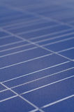 Polycrystalline solar cells Stock Image