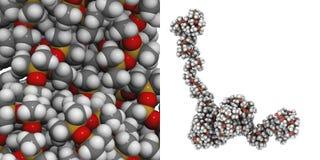 Polydimethylsiloxane (silicone) Fotografia Stock Libera da Diritti