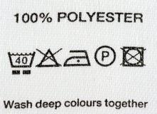 polyester 100 Photo stock