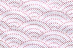 Polyester achtergrondtextuur Close-up van kleurrijk synthetisch vezelpatroon voor textiel, zakken of andere kledingstukken Macro royalty-vrije stock foto
