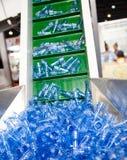 Polyethyleen vóór gemaakt aan Fles. Stock Afbeeldingen