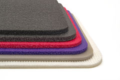 Polyethylene Foam, Multi Color Material Royalty Free Stock Photography