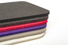 Polyethylene Material Multi Colour Foam Closed up Stock Image